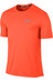Nike Dry Miler Hardloopshirt korte mouwen Heren oranje